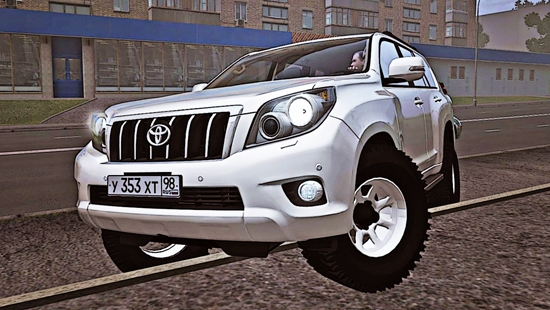 Toyota Land Cruiser Prado 3.0 TD 4WD Off-Road для City Car Driving 1.4,1.5
