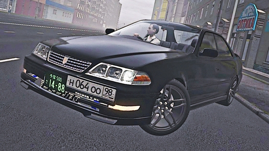 Toyota Mark II 2.5 Tourer V для City Car Driving 1.4,1.5
